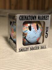 China Town Market Smiley Globe Soccer Ball