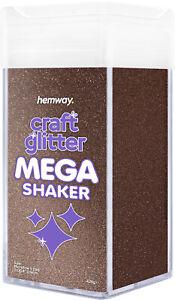 "Hemway Microfine Craft Glitter MEGA Shaker - 425g 1/256"" 0.004"" 0.1mm"