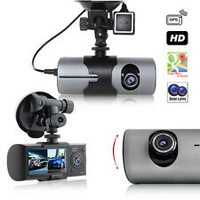 "NEW! 2017 DashCam 2.7"" LCD + Dual Wide Angle Lens Car DVR Recorder AKA BlackBox"