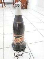 """Vintage Pepsi Cola Bottle Radio Rare Model 320  loud hum, 23 1/4"""" tall Novelty"""