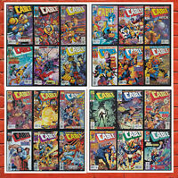 Lot of 24 Cable Comics #45-55, 58-69 + Flashback #1 *ALL NM* Great Deal!