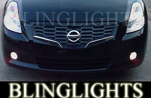 Non-Halo Fog lights lamps angel eyes for 2007-2010 Nissan Altima Coupe