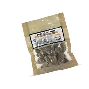 Fresh Is Best Freeze Dried Raw Duck Hearts, Made in The USA, Single Ingredien...