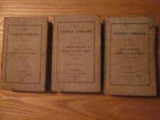 1830 Rev. H.H. Milman's History Of The Jews 3 volume set Harper's Family Library