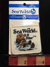 Co-Branded SeaWorld Amusement Park O.P. Otter Voyager Orlando Florida Patch 73WA