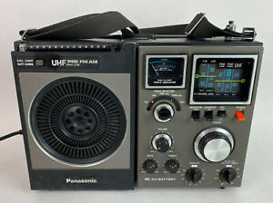 vintage boombox PANASONIC RF-1170 5 BAND PORTABLE RADIO