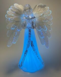 7 Color-Changing Christmas Angel LED lights Fiber Optic Wings