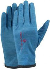 Ronhill Running Jogging Walking Merino Gloves Deep Cyan Marl Unisex M