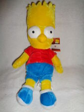 "Simpsons Bart 14"" Doll 2005 Nanco 20th century fox stuffed plush soft Velvet"