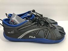Fila Skele-Toes Mens 8 Athletic Running Hiking Black Blue Gray Shoes Barefoot