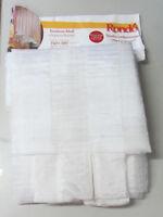 Tenda tendone Mali con passanti 100% poliestere misura 150x300 cm colore bianco