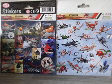 30 Planes Sticker/Aufkleber--Stickers-Disney Planes-Dusty,Skipper,Chupacabra-(2)