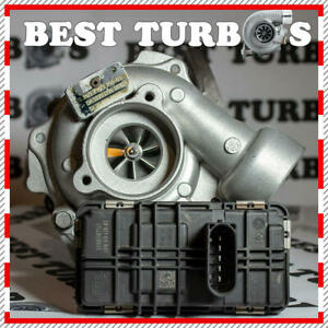 Turbocharger for BMW 125d, 225d, 325d, 425d, 525d, X1, X5. 155, 160 kW. N47S1.