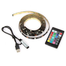 6.6FT LED TV USB Backlight Kit Computer RGB LED Light Strip Background Lights US