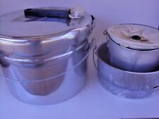 6 Piece Camping Cookware Backpacking Outdoor Removable Interchangeable Handle