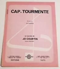 Partition sheet music JO COURTIN : Cap-Tourmente * Accordéon