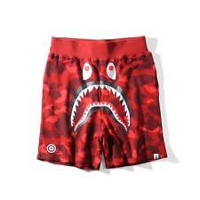 17SS A Bathing Ape 5 Colors Camo Shorts Shark Prints S-XXL Cool Bape Shorts