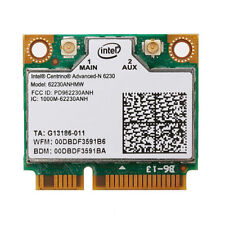 Dual Band Intel 6230 62230ANHMW 300M WiFi BT bluetooth Wireless Mini PCI-E Card