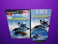 Splashdown (Sony PlayStation 2, 2001) PS2 Complete B502
