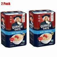 Quaker Quick 1-Minute Oats (5 lb., 2 pk.) Pack of 2