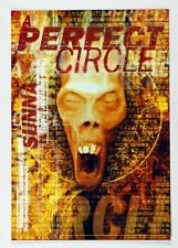 A Perfect Circle Poster 2000 Sep 6 The Warfiled Theatre San Francisco
