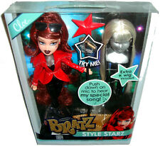 Bratz Doll Style Starz Cloe Figure With Mic & Special Song MIB Toy 2013 With Wig