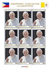 2014 Papa Francesco anno II - Filippine - minifoglio