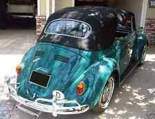VW Volkswagen Bug , Beetle 1963-1967 Convertible Top Black Stayfast