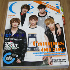 CECI ANOTHER BIGBANG SHINEE COVER KOREA MAGAZINE 2012 APR NEW