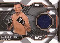 2015 TOPPS UFC CHRONICLES RELIC CARD CR-FW FABRICIO WERDUM