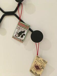 HARRY POTTER MARAUDERS MAP/QUIBBLER CHRISTMAS TREE HANGING DECOR