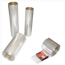 "12"" 1500 Feet Heat Shrink Wrap Tube Tubing Film Clear PVC 100 Gauge Packaging"