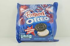 Oreo FIREWORK Poping Candy Sandwich Cookies Limited Edition Rare hard to find!