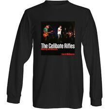 The Celibate Rifles - Meet The Mexicans Album Cover Long Sleeve Black T-Shirt