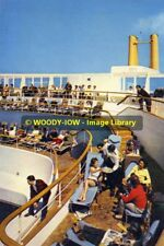 rp11014 - P&O Liner Canberra  - 1st class Pool & Terrace - photo 6x4