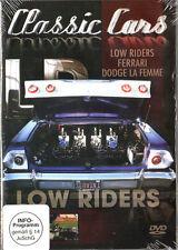 COCHES CLÁSICOS -low Moteros Ferrari DODGE BUEN DVD para USA autofans & AMANTE