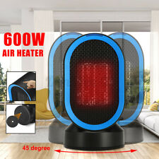 600W Oscillation Electric Ceramic Heater Home Office Space Heating Fan Silent w