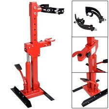 Red 1 Ton Auto Strut Coil Spring Compressor Air Hydraulic Tool Cars Truck NEW