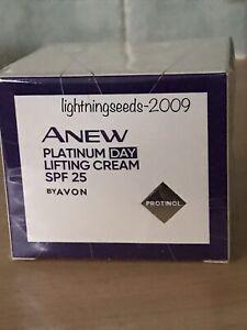 Avon ANEW Platinum Day Lifting Cream SPF 25 50ml BRAND NEW SEALED