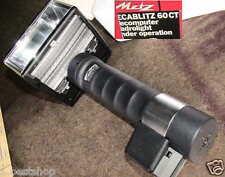 Metz Mecablitz 60 ct-2 stabblitz pile batterie Contax adaptateur c50 Mount Flash OV