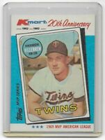 HARMON KILLEBREW ~ 1982 Topps Kmart 20th Anniversary #15 ~ Minnesota Twins HOF