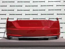 AUDI TT S LINE TTS 2015-2018 REAR BUMPER IN RED FULLY COMPLETE GENUINE [A471]