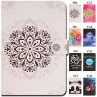 For Apple iPad Tablet Wallet Card PU Leather Case Stand Protective Flip Cover