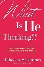 What Is He Thinking??: What Guys Want Us to Know About Dating, Love, and Marriag