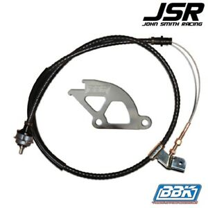 96-04 Mustang (all) BBK Adjustable Clutch Cable & Quadrant Kit