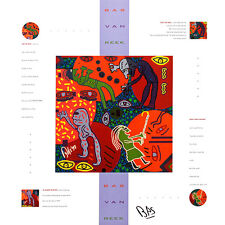 Bas van Reek TEN-to man mano firmati poster stampa d'arte immagine 60x60cm-porto franco
