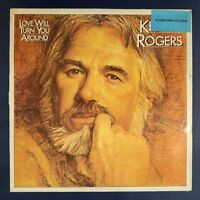 "Kenny Rogers ‎– Love Will Turn You Around (Vinyl, 12"", LP, Album)"
