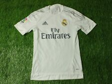 REAL MADRID 2015/2016 PLAYER ISSUE FOOTBALL SHIRT JERSEY HOME ADIDAS ORIGINAL