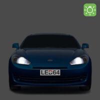 2 ampoules à LED Blanc veilleuses / feux de position pour Hyundai coupé