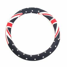 Suede Union Jack Steering Wheel Grip Cover For Chevrolet Holden Cruze 2008 2017